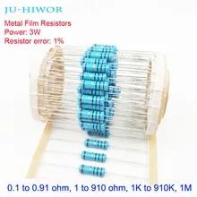 39 Kilo Ohm Resistance Flame Proof 3W 5/% Tolerance Inc. NTE Electronics 3W339 Metal Film Oxide Resistor Axial Lead Pack of 2