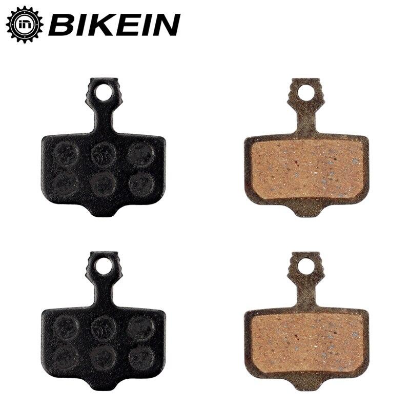 BIKEIN 2 Pairs Mountain Bicycle Resin Disc Brake Pads For Avid Elixir R/CR/CR-MAG/E1/3/5/7/9 Sram X0 XX DB1/3/5 MTB Bike Parts