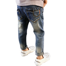 Skinny Jeans Boys Broken Hole Jeans Pants Baby Boy Leggings Spring Autumn Casual Children Baby Clothes NZK0089