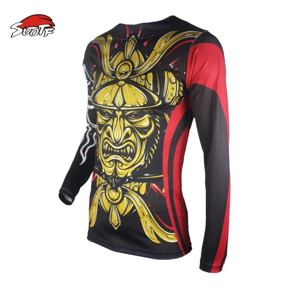 US $9 9 |SUOTF Golden Japanese Warrior Spray mma clothing jaco Fitness  Fighting Fierce Boxing Sweatshirt Boxing jerseys short muay thai-in Boxing