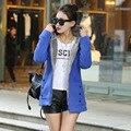 2016 Jackets Women Long Wool Liner Plus Velvet Hooded Cardigan Casual Coat Cotton Outwear  Warm Jackets D017