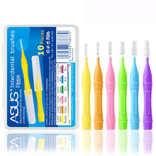 8/10/20pcs Practical Effective Interdental Brush Teeth Care Safe Hygiene Oral Cleaning Tool