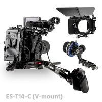Tilta ES T14 C FS5 Rig Kit Camera Rig FF T03 follow focus 4*4 matte box Baseplate Extension armV lock For SONY FS5 camera