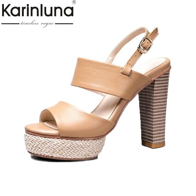 2aac5b5d2ca KarinLuna-2018-Genuine-Leather-Brand-Trendy-Summer-Platform-Sandals-Shoes-Women-Super-High-Heels-Party-Woman.jpg_640x640.jpg