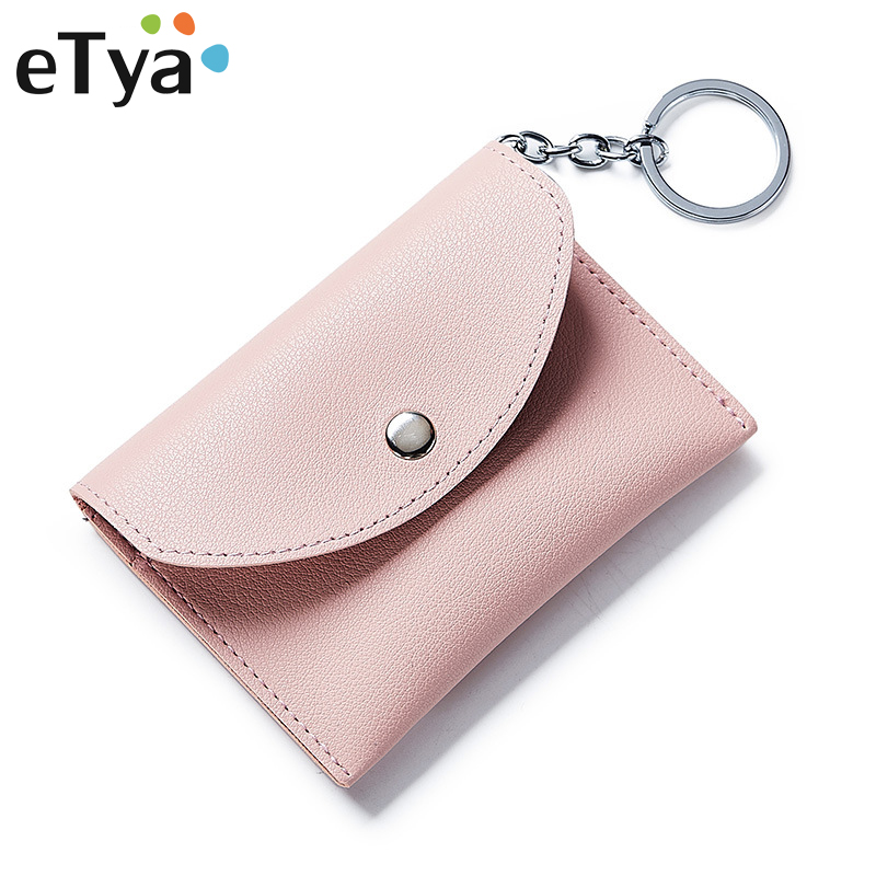 Women Wallet Ladies PU Leather Small Coin Purses Female Purse Mini Clutch Wallets Fashion Multifunction Card Holders key bag