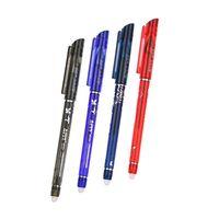 12PCS Pack Erasable Pen 0 5mm Gel Pen 4 Color Ink Avaliable For Children S Gift