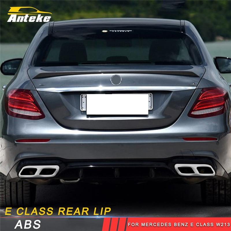 ANTEKE auto rear lip rear bumper protect accessories for Mercedes Benz E class w213