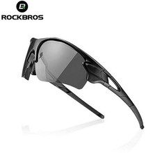ROCKBROS MTB Bicycle Sunglasses Goggles Eyewear Myopia Frame Polarized Photochromic Cycling Glasses Bike Glasses Outdoor Sports