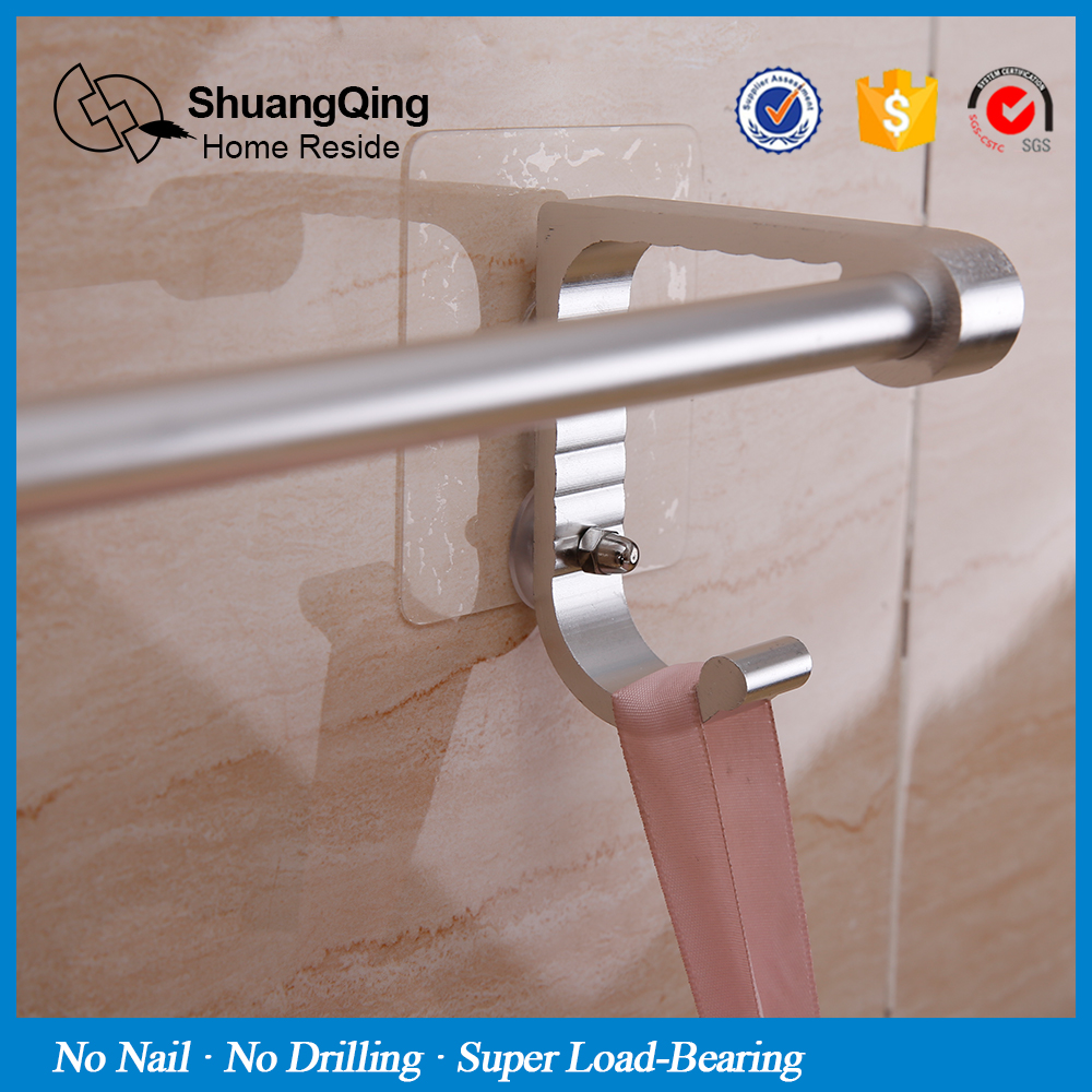 Magic Sticker Max Loading 5kg No Nail Drill Aluminum Towel Bar Kitchen Bath Holder Bathroom Hanger With Hook5096 In Bars From Home