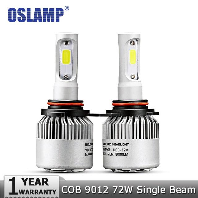 Oslamp 9012 (HIR2) 72 W/pair COB Chips Led scheinwerfer Autolampen ...