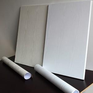 Image 4 - 0.4x5 m ויניל עץ עצמי דבק טפט PVC עמיד למים ארון טלוויזיה בסלון בית תפאורה ריהוט ארון דלת קיר מדבקות