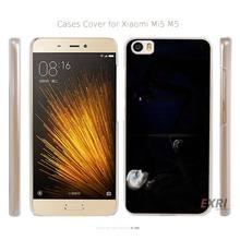 Minecraft enderman slenderman slender Transparent Hard Mobile Cell Phone Case Cover for Xiaomi Mi 4 5