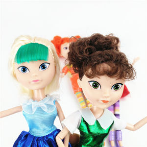 Image 4 - 4 יח\סט רוסית Cartoon Kawaii פיות פנטזיה סיירת אופנה יוניסקס בובת פלסטיק DIY בד דגם צעצועי חג מולד מתנה עבור בנות