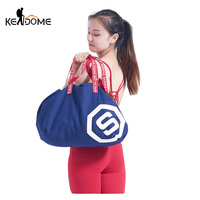 Large Capacity Holdall Outdoor Travel Handbag Canvas Gym Bag Yoga Bag Drawstring Sports Bags Women Fitness