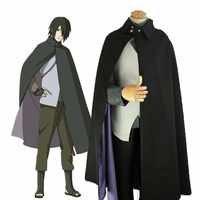 Anime BORUTO NARUTO DIE FILM Uchiha Sasuke Mantel Anzug Naruto Cosplay Kostüm Frauen Männer Halloween Party Full Set Uniform Anzug