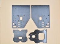 1pcs 3d printer parts Opensource OX CNC plate aluminum plate