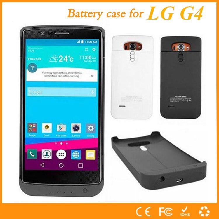 imágenes para Para lg g4 g4 caso 3200 mah batería externa de alta calidad cargador de batería banco de la energía del caso capa para lg g4 de la batería caso