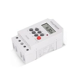 12V DC вход 7 дней программируемый 24 часа мини таймер реле времени выходная нагрузка высокая мощность 30A