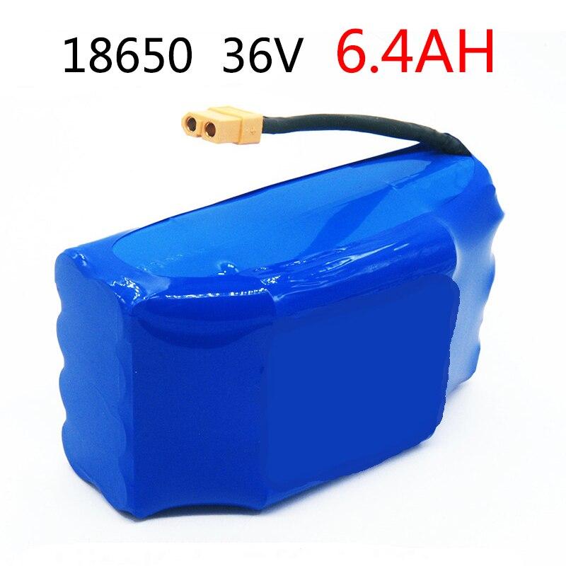 36 V 6.4AH 6400 mAh Haute Vidange 2 Roues, trottinette électrique Équilibrage batterie au lithium Pour Auto-Équilibrage Fit 6.5 7