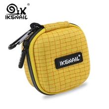 IKSNAIL Unique Earphone Accessories Case Bag Headphones Charger USB Portable Storage Box Headset