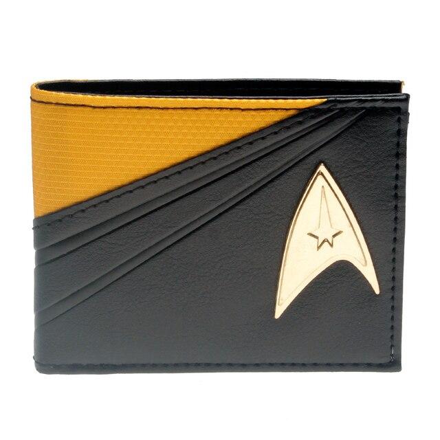 Кошелек Звездный путь Star Trek металлический логотип
