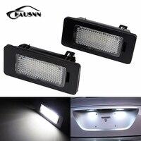 2Pcs Set LED License Plate Light Error Free For BMW E39 E60 E61 E70 E82 E90