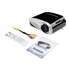 GP8S Mini Portable font b Projector b font with LED Light Full HD 1080P Home Theater