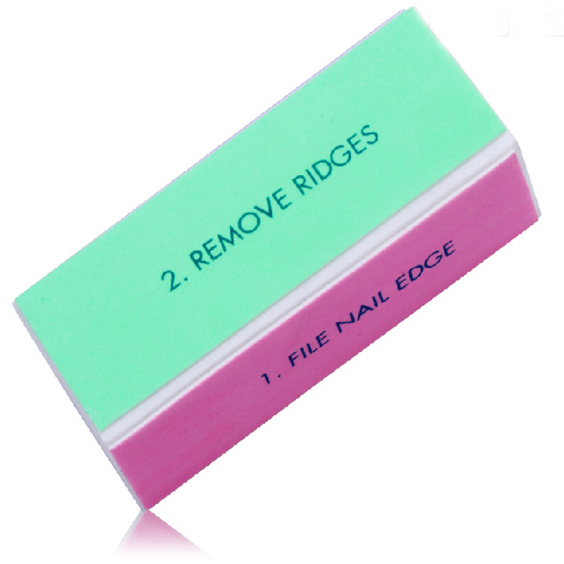 10PCS Nail Buffer File Block For Manicure Buffing Sanding Polish Makeup Tools Lot Pedicure In Files Buffers From