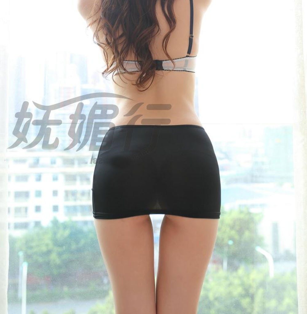 Ice Silk Sexy Candy Colors Pencil Skirt See Through Cute Micro Mini Skirt Night Club Skirt Fantasy Erotic Wear Tight Skirt Колготки