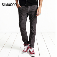 SIMWOOD 2016 New Autumn Winter Casual Pants Men Fashion Trousers Brand Clothing Slim Fit Corduroy Warm