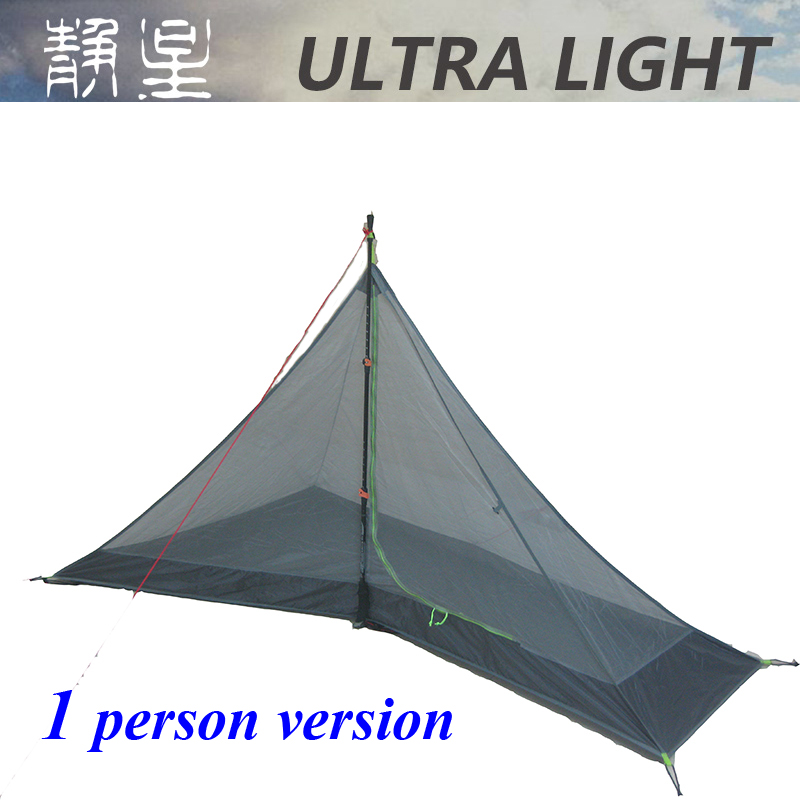 220*65/135*125 cm/ 220*135*125cm  ASTA 1 person/ 2 person  high quality summer outdoor camping mesh tent-in Tents from Sports & Entertainment    2