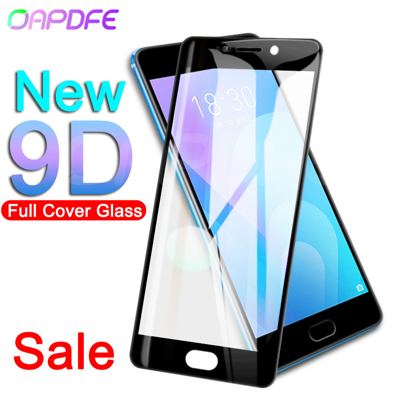 9D Tempered Glass on the For Meizu M6 M5 M3 Note M6S M6T M5S M5C M3S M8 Pro 7 Plus Screen Protector Protective Glass Film Case-in Phone Screen Protectors from Cellphones & Telecommunications