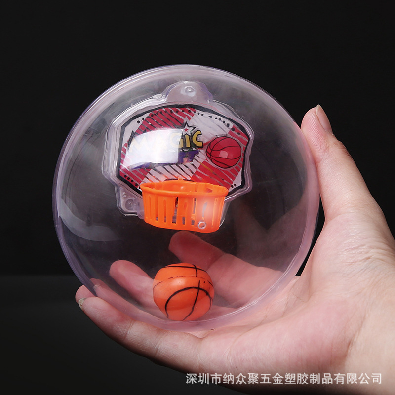 Pocket A Small Basketball Mini LED Flash Music Basketball  Finger Decompression Toy