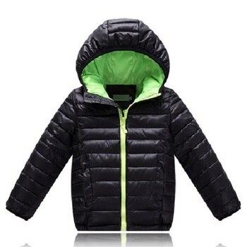 Anak Pakaian Anak Laki-laki & Perempuan Musim Dingin Hangat Hooded Mantel Anak-anak Berlapis Kapas Pakaian Anak Laki-laki Jaket Anak Olahraga jaket 5-12 Tahun