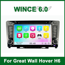Touch screen Car DVD Player Video for Great Wall Hover Haval H6 with Radio Bluetooth GPS support Ipod 3G Wifi TV