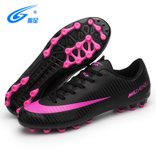 AG Spikes Soccer Football Shoes Men Boys Football Boots Wome