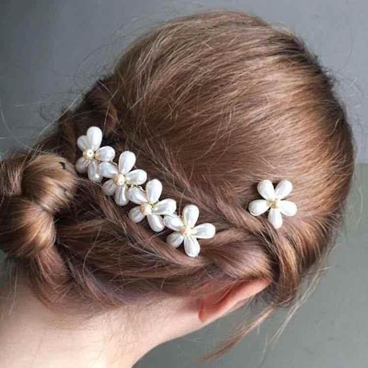 Baru Fashion Korea Imitasi Mutiara Jepit Rambut Jepit Rambut untuk Wanita Wanita Crystal Hairgrips Rambut Pin Rambut Aksesoris Perhiasan