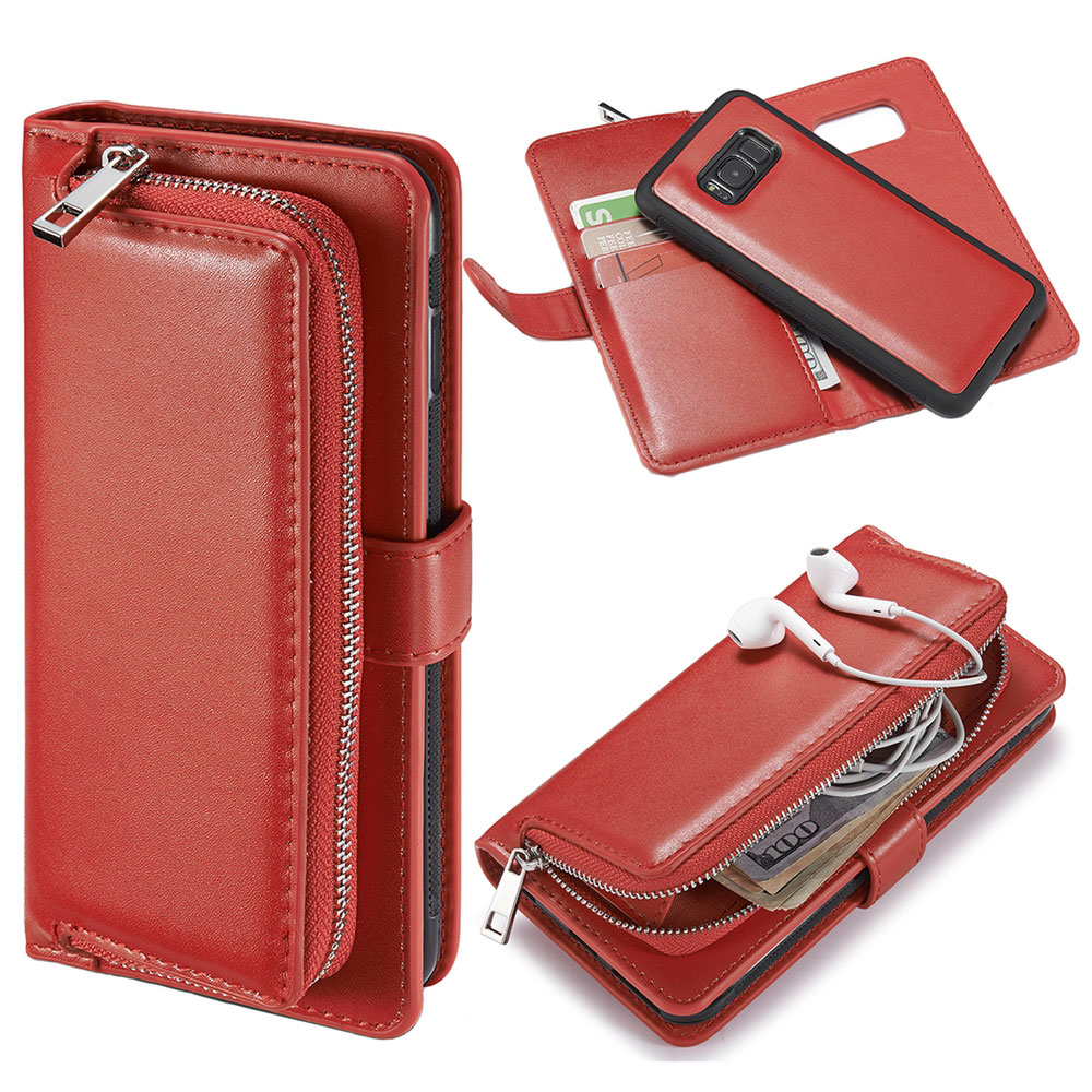 Wallet Case Bag for Samsung Galaxy S5 Note 5 S6 Edge S7