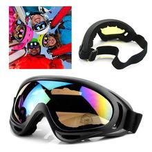 Ride Motorcycle Sport Goggles Ski Glasses Windproof Ski Eyewear Flexible Design