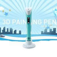 Penobon PLA Filamento Stampante 3D Pen Non tossico 3D Penna Magica Penna di Disegno Per I Bambini Regalo Di Compleanno Regali Utili stampante 3D penne