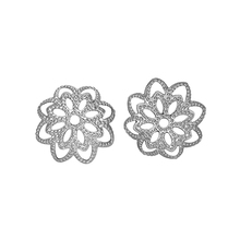 LASPERAL 50PC Stainless Steel Hollow Flower Bead Caps For Je