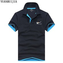 Free shipping POLO New 2017 Men Polo JUST DO IT Brand Clothing Male Fashion Casual Polo Shirts XS-3XL Men's Tops