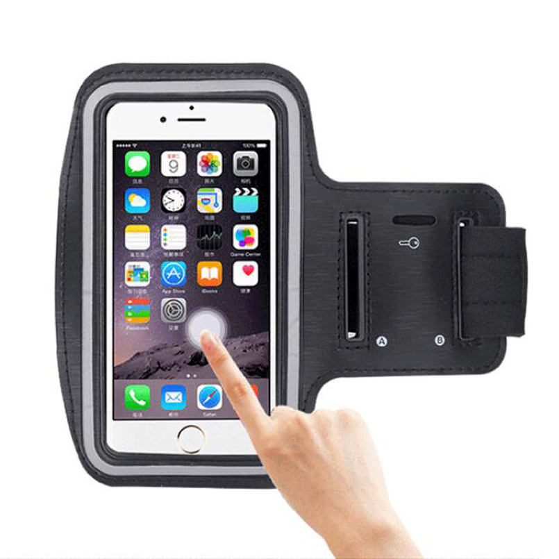 Careful 5.5 Universal Nylon Mobile Phone Armband Outdoor Gym Sports Running Gear Wrist Bag Arm Set Case Cover For Iphone 4 5 6s Samsung Relojes Y Joyas