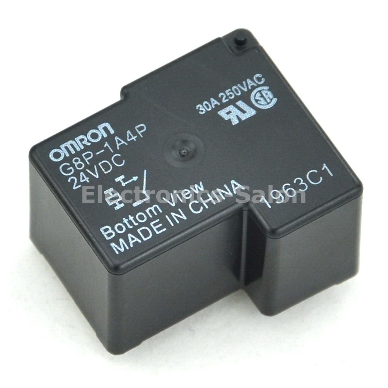 ( 2 pcs/lot ) G8P-1A4P 24VDC Power Relay, 30A 250VAC SPST-NO, 24V Coil.( 2 pcs/lot ) G8P-1A4P 24VDC Power Relay, 30A 250VAC SPST-NO, 24V Coil.
