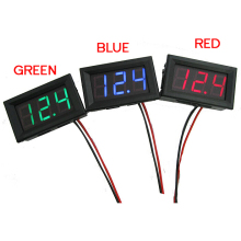 Mini 1 PC New  DC 0~30V LED Panel Voltage Meter Digital LED Display Voltmeter Motorcycle Car P30