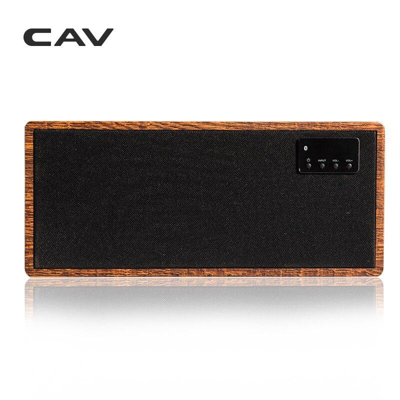 """Электрические плиты CAV AT60 Bluetooth Динамик 2,1 канала деревянные AUX оптический коаксиальный USB Вход портативные колонки глубокие басы 5,25 """"НЧ-динамик 4 режимов эквалайзера (Фото 1)"""