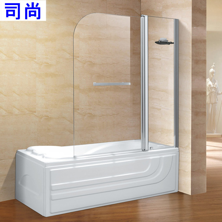 Foshan Factory Direct Bathtub In A Straight Wall, A Solid Glass Shower  Screen A Live # D59 In Shower Doors From Home Improvement On Aliexpress.com  | Alibaba ...