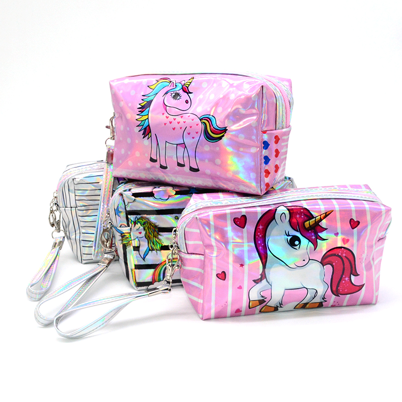 unicorn pencil case stripe estuche escolar Kawaii pencilcase trousse scolaire stylo papelaria pencil box pen case stationery все цены