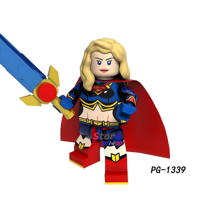Superhero Harley Quinn Building Blocks Minifigure Brick Toys The