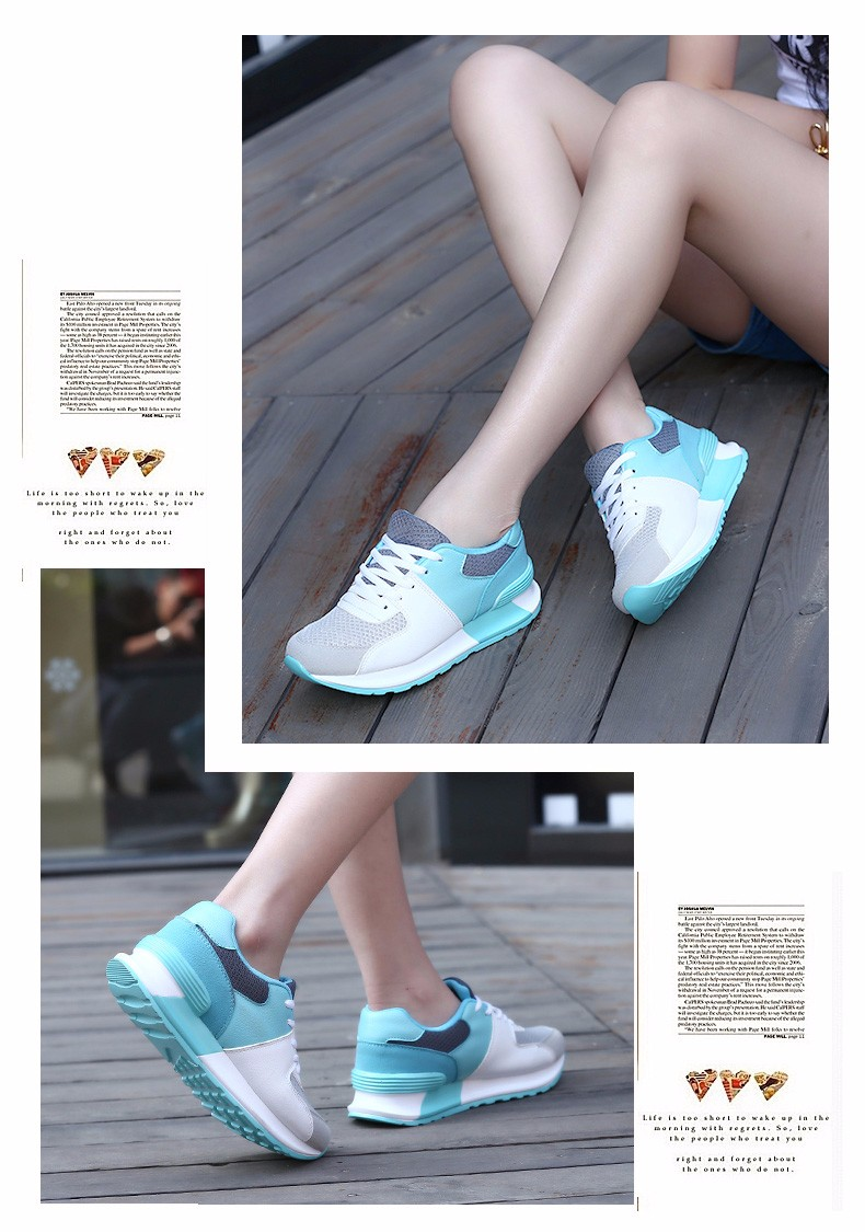 IYOUWOQU Running shoes for women Sneakers shoes 17 New listing Summer Breathable Outdoor Sports Women trekking walking Shoes 14